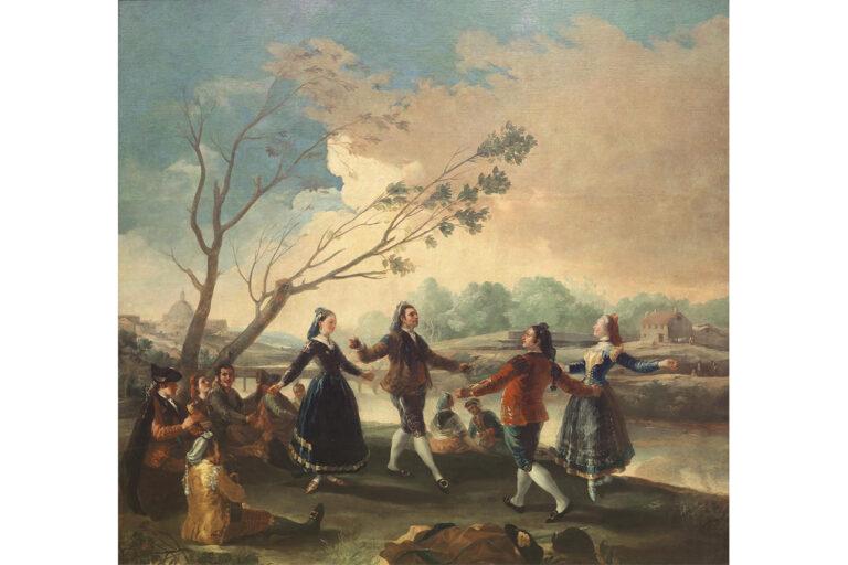 Dance of the Majos at the Banks of Manzanares, Museo del Prado, c 1776