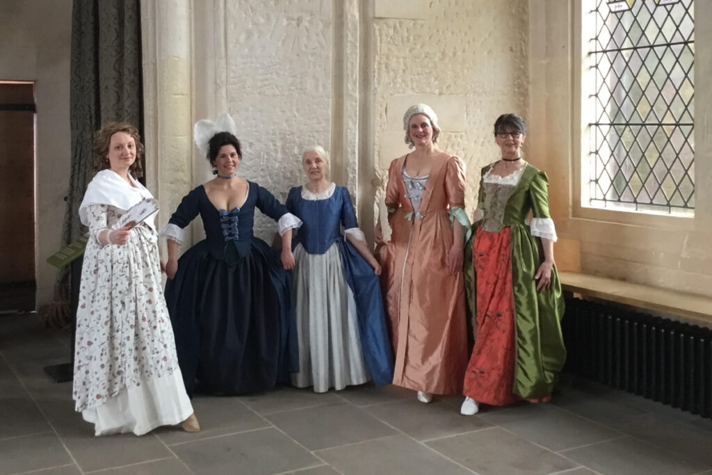 April 2018 Posing in the Stirling Palace during International Dance Day celebration