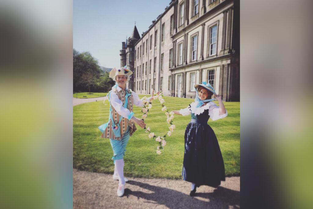 April 2019 Frolicking at Holyrood Palace
