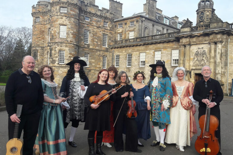 February 2019 After the performance in Holyrood Palace