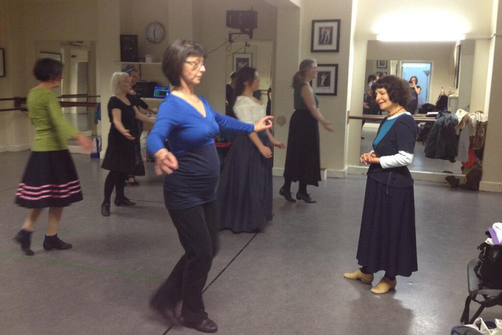November 2016 Barbara Segal teaches Baroque Dance in Edinburgh