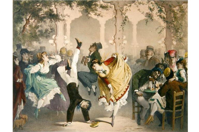 G Barry Quadrille at the Bal Bullier c.1870
